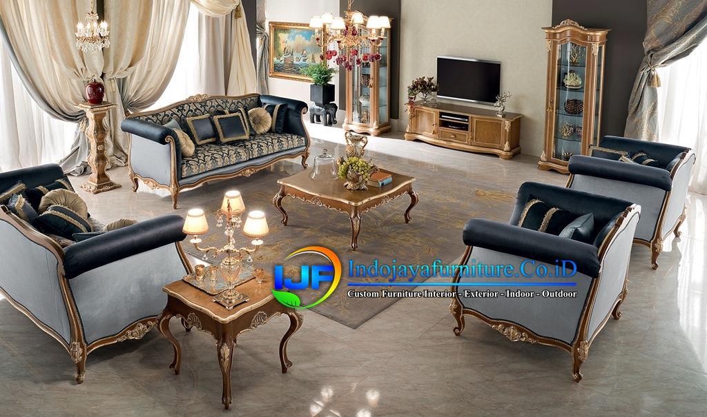 Set Kursi Tamu Klasik Louise Italian, Sofa Tamu Klasik Boroco, Set Kursi Ruang Tamu Modern Mewah Klasik, Model Sofa Tamu Italian Terbaru, Sofa Tamu Jati Royal Klasik Terbaru