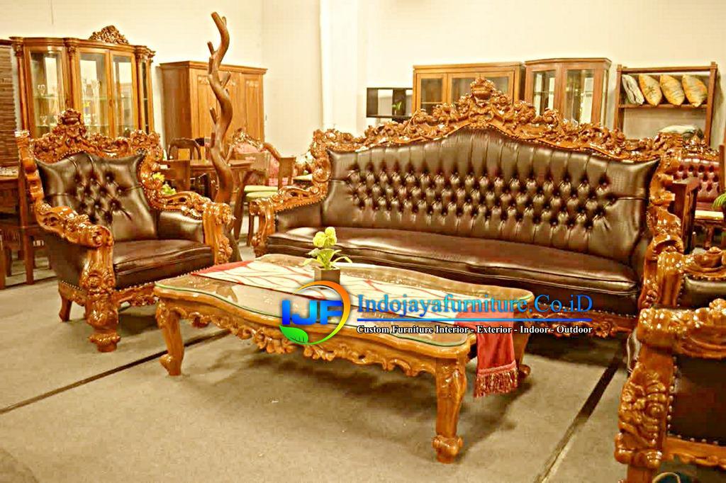 Kursi Ruang Tamu Royal Klasik Karanganyar