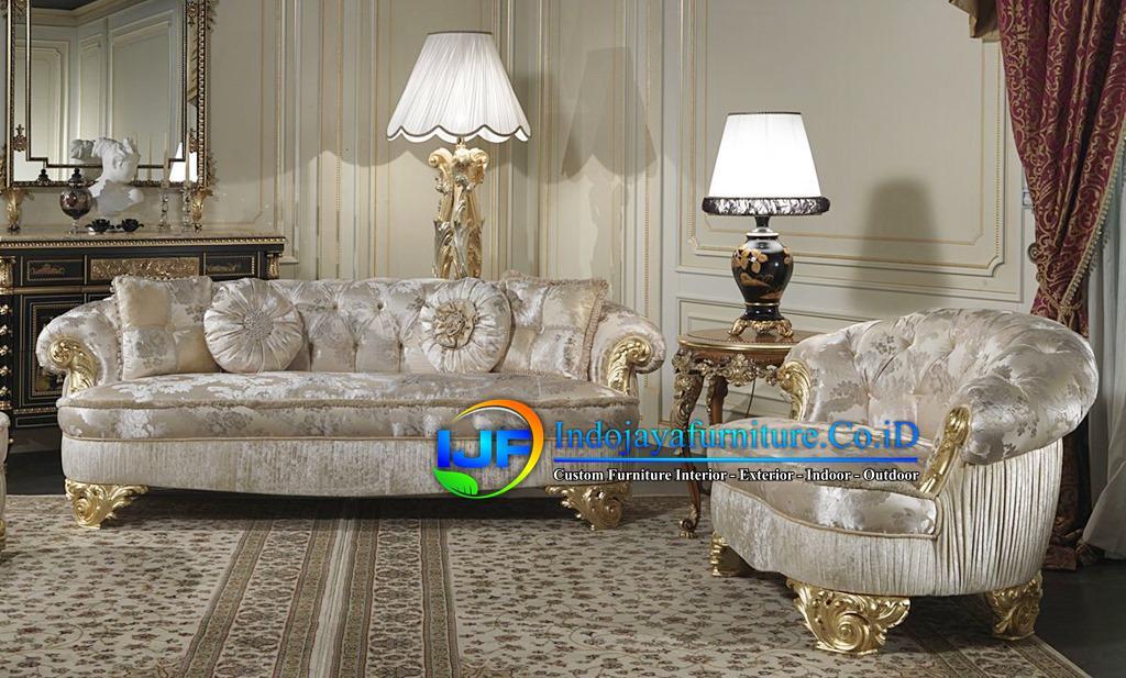 Sofa Tamu Eropa Jati Klasik Purwakarta