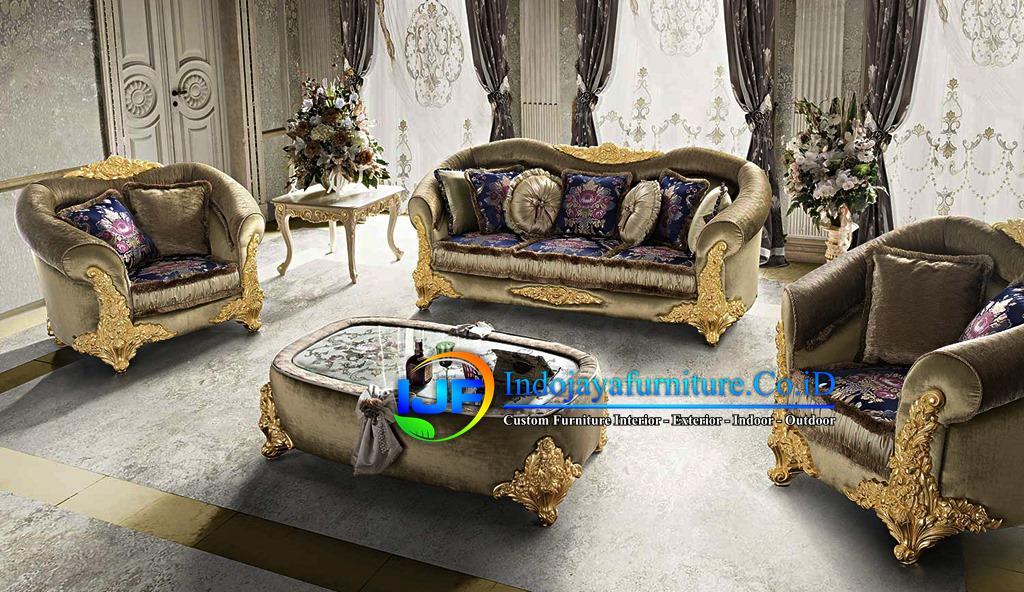 1 Set Sofa Tamu Mewah Klasik Bojonegoro