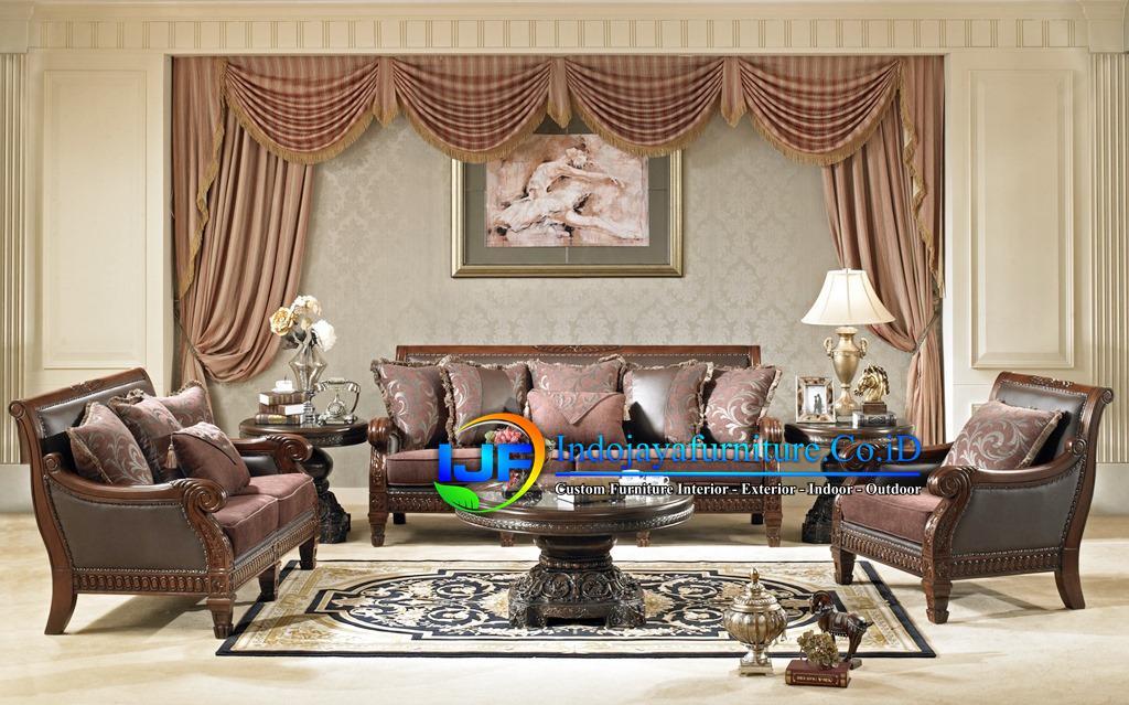 Sofa Tamu Klasik Minimalis Koja