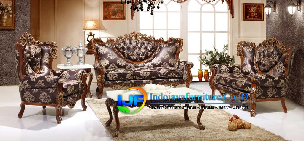 Sofa Tamu Minimalis Mewah Tuban