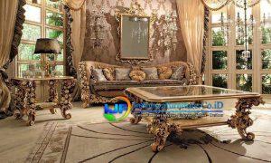 1 Set Sofa Ruang Tamu Terbaru Mewah Sumedang