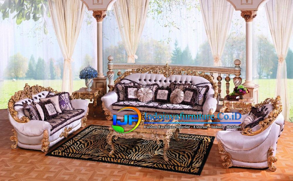 Sofa Tamu Klasik Boroque Bogor