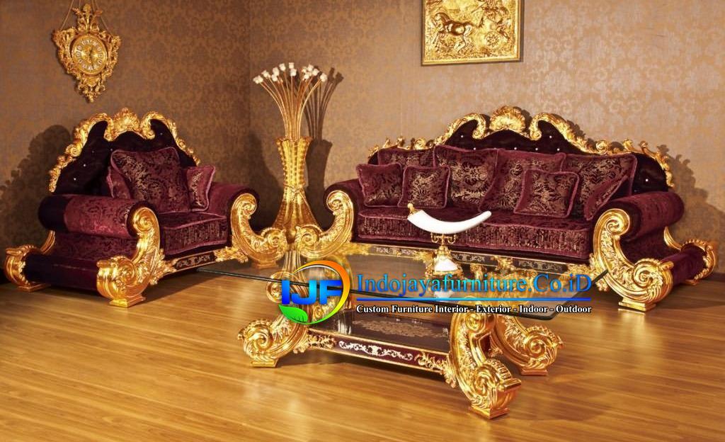 Kursi Ruang Tamu Royal Klasik Purbalingga