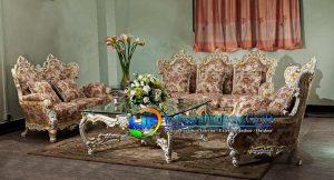 Sofa Ruang Tamu Mewah Gold  Cimahi