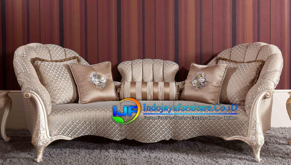 Sofa Tamu Eropa Jati Klasik Soreang