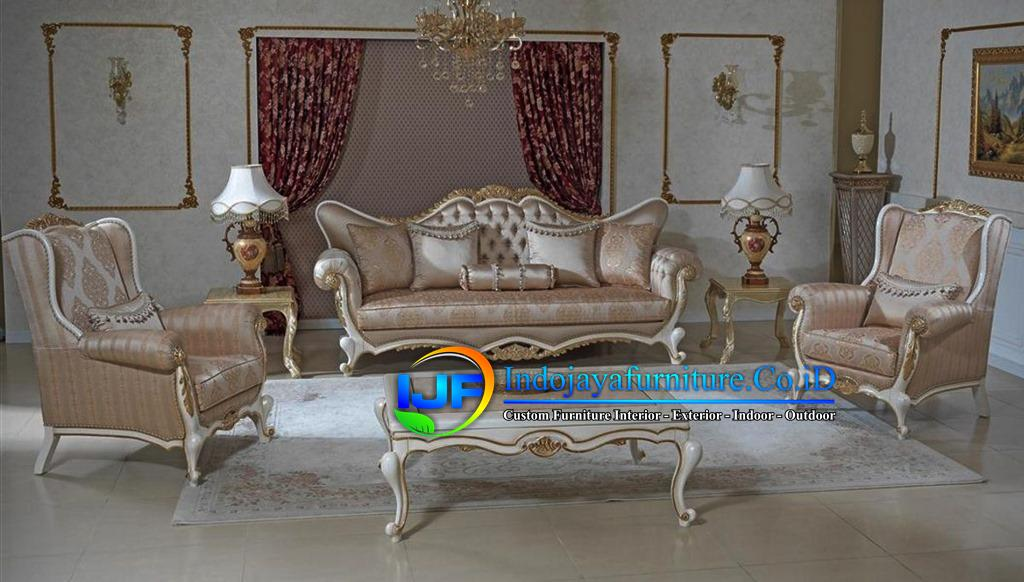 Sofa Tamu Ukiran Klasik Gold Wonogiri