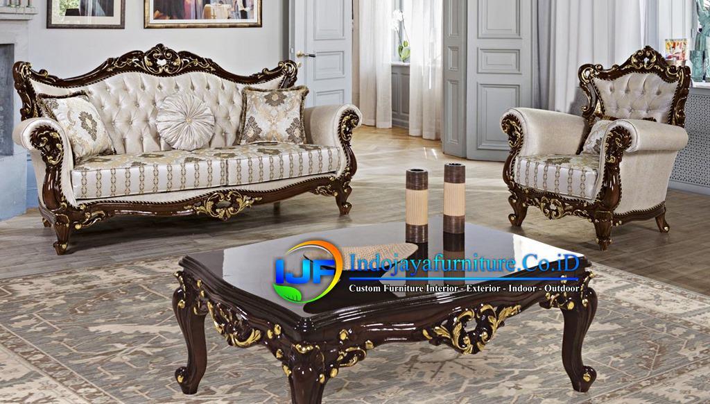 Sofa Mewah Ruang Tamu Terbaru Parigi