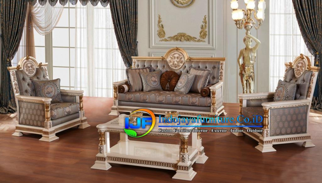 Sofa Tamu Modern Mewah Surabaya