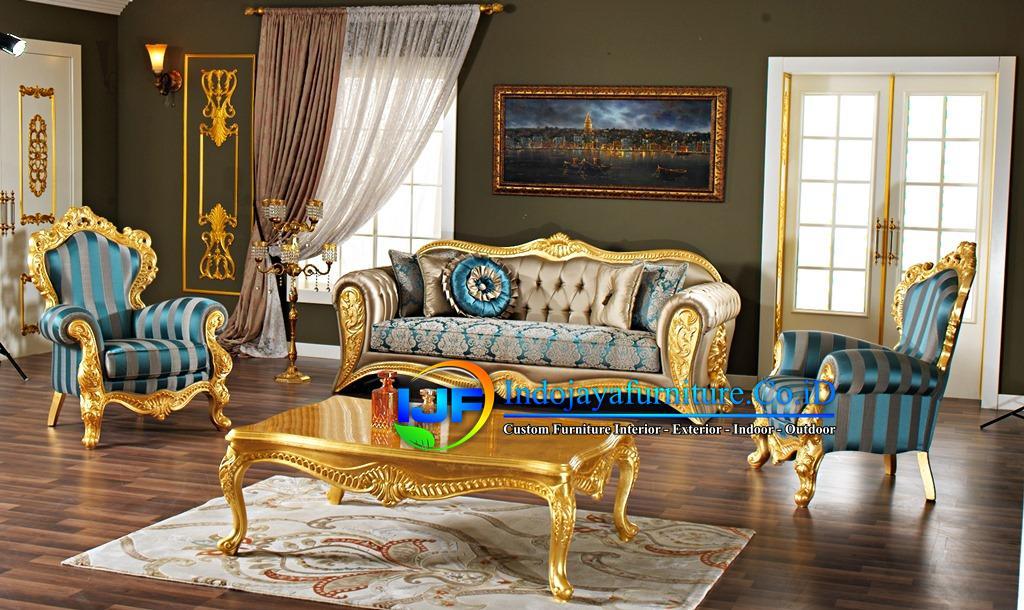 Sofa Tamu Modern Mewah Kendal
