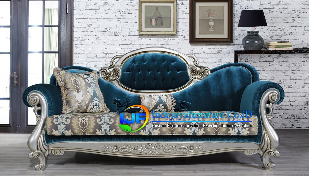 Sofa Tamu Eropa Jati Klasik Surabaya
