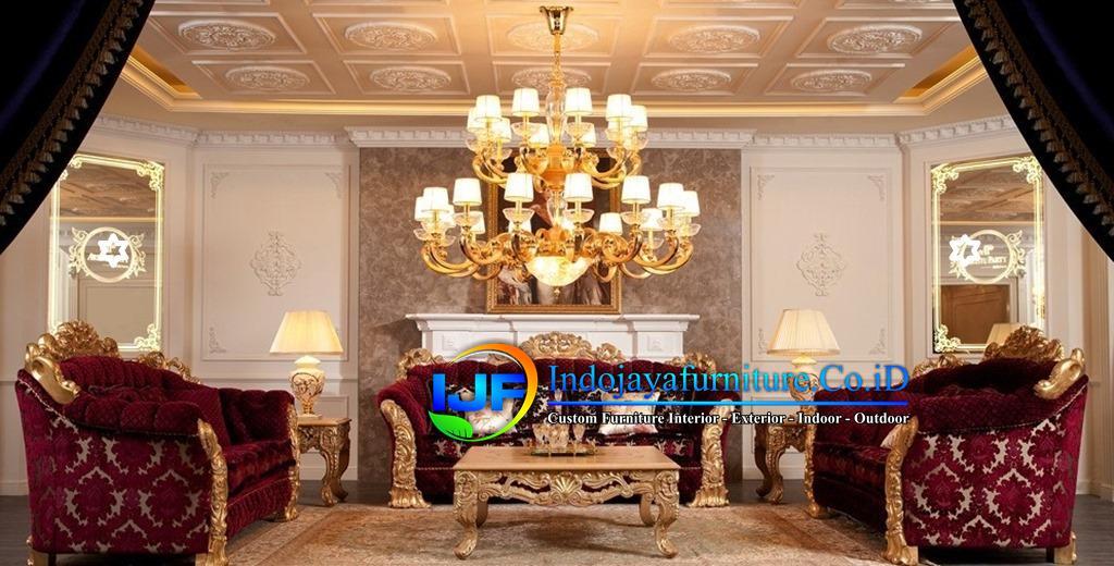 Sofa Tamu Klasik Boroque Tarogong Kidul