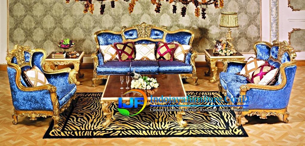 Sofa Tamu Klasik Boroque Mojokerto