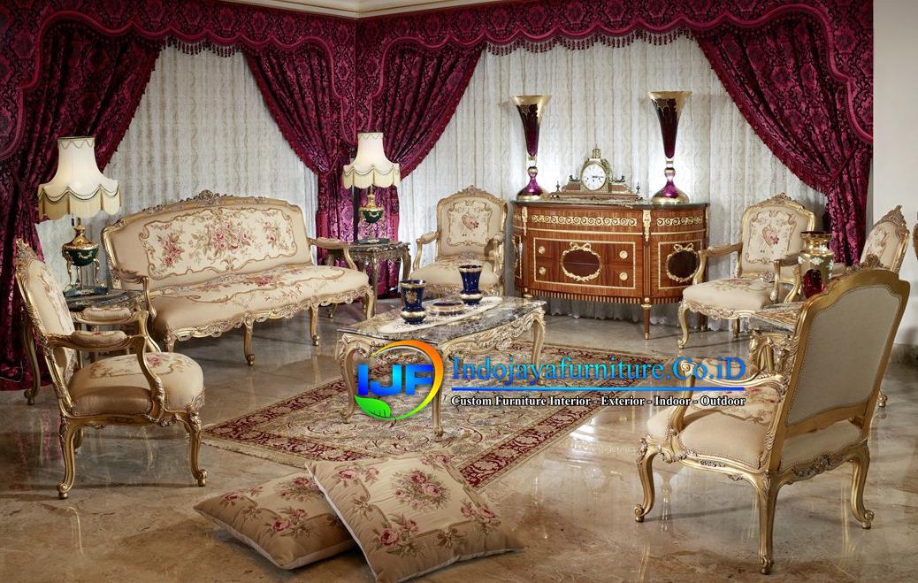 Sofa Tamu Mewah Terbaru 2019 Lebak