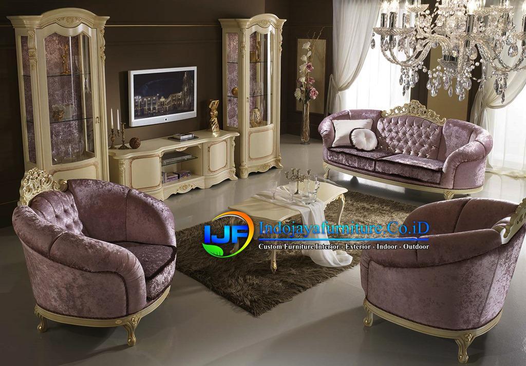 Sofa Ruang Tamu Mewah Gold  Majalengka