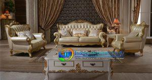 1 Set Sofa Ruang Tamu Terbaru Mewah Kajen