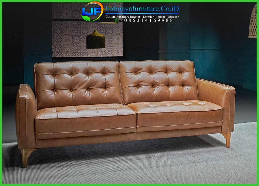 Sofa Chesterfield Leather Antique